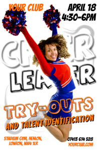 Cheer Leader Poster