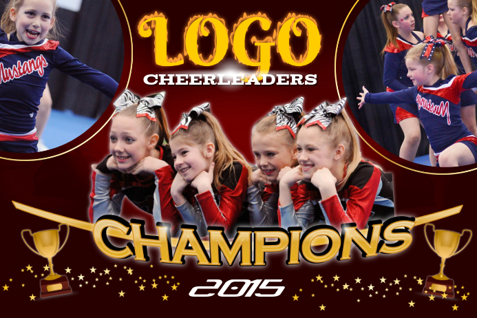 Cheer Leaders Poster