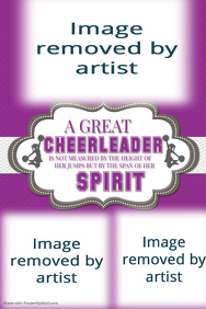 Cheerleader, Cheerleading Coach, Gift Idea for Coach, Cheer