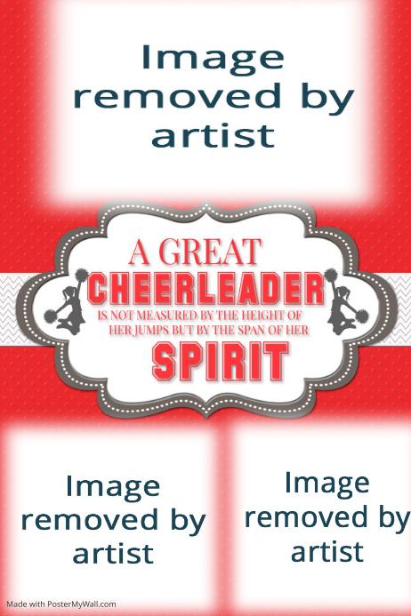 Cheerleader, Cheerleading Coach, Poster, Gift Idea