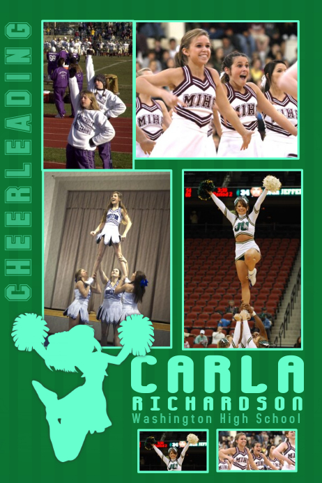 Cheerleading Poster Template