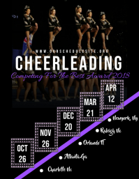 Cheerleading team schedule