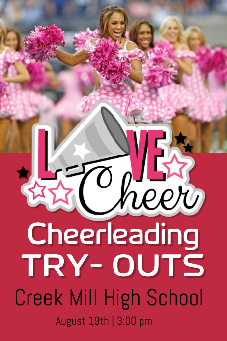 Cheerleading try-outs