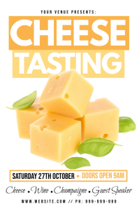 Cheese Tasting Poster