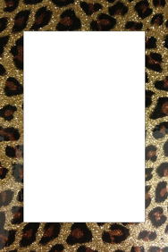 Cheetah Party Prop Frame