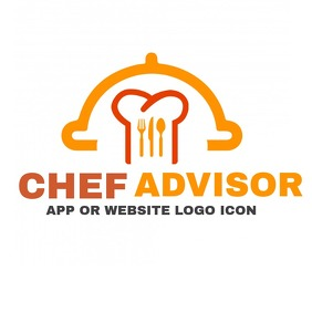 chef advisor Logo template