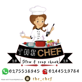 Chef Instagram na Post template