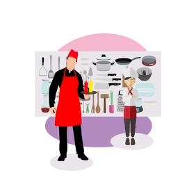 Chef Logotipo template