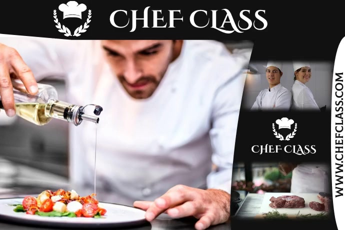 CHEF Poster template