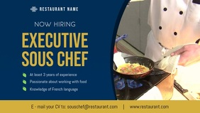 Chef Hiring Facebook Cover Video