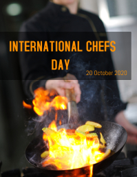Chefs Day 2020 Flyer (US Letter) template