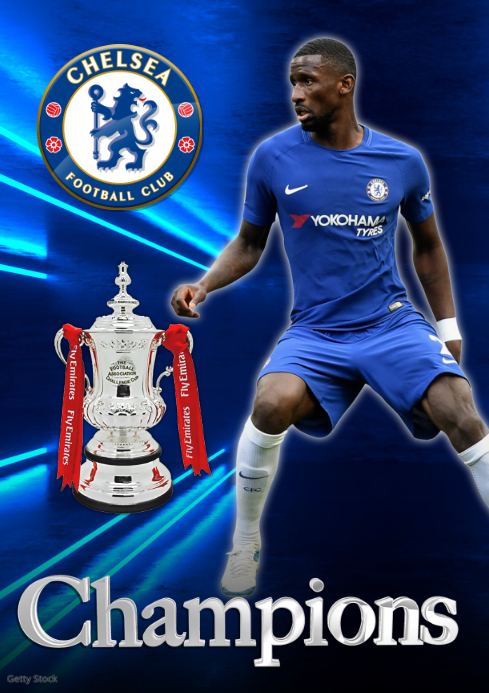 Chelsea FC Poster