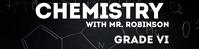 Chemistry Google Classroom Banner template