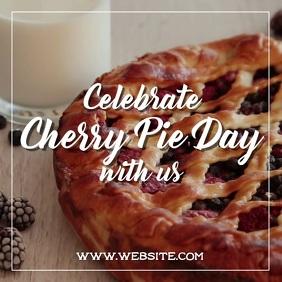 Cherry pie day