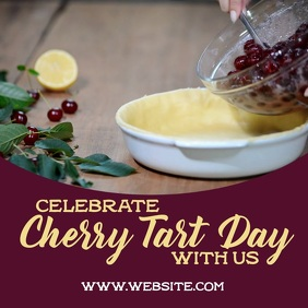 Cherry Tart day