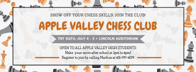 Chess Club Registration Facebook Banner