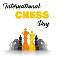 Chess Day Instagram Post template