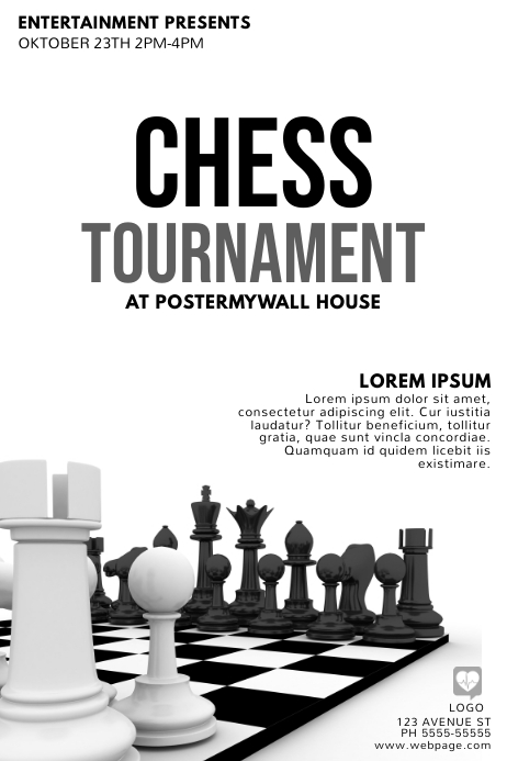 Chess Poster Template