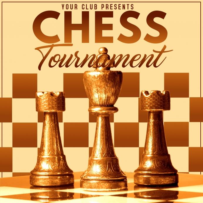 Chess tournament,chess 方形(1:1) template