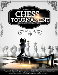 Chess tournament ,Gaming flyers