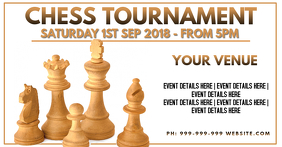 Chess Tournament Facebook Cover Photo