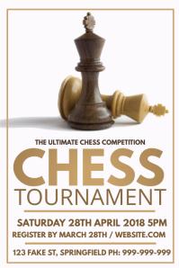 Chess Tournament Poster