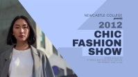 Chic Fashion Show Digital Display Video