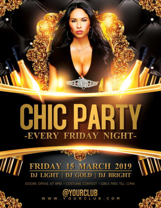 CHIC PARTY Flyer & Poster