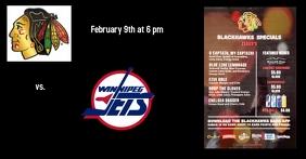 Chicago Blackhawks Gambar Bersama Facebook template