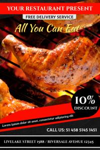 Chicken Poster template