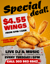 Chicken Wings Flyer