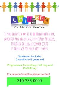 child care center template