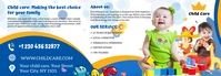 child care Tumblr Banner template