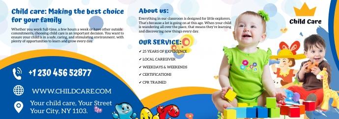 child care Spanduk Tumblr template