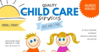 Child Care Services Facebook Share Image template