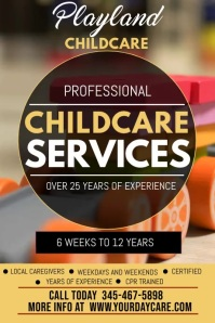 child care services video template Iphosta