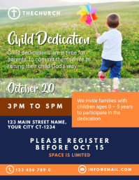 Child Dedication Church Service