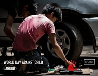 CHILD LABOUR ใบปลิว (US Letter) template