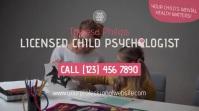 Child Psychologist Pantalla Digital (16:9) template