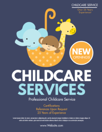 Childcare Volante (Carta US) template