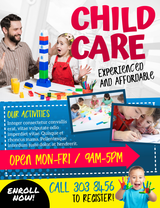 Child Care Flyer Template from d1csarkz8obe9u.cloudfront.net