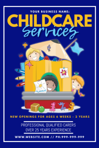 Childcare Services Poster