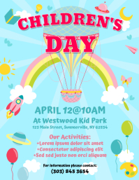 Children's Day Flyer