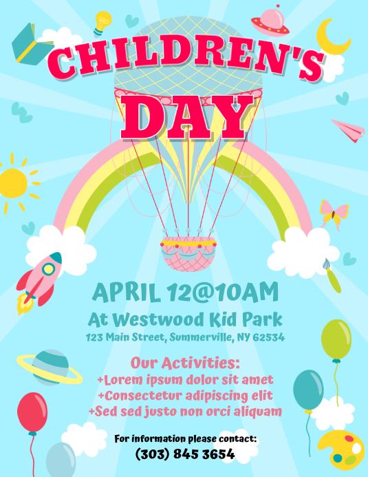 Children's Day Flyer