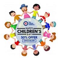 Children's Day Offer Video Post Template Quadrato (1:1)