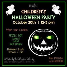 Children's Halloween Party Video