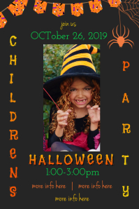 Children's Halloween Poster