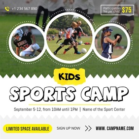 Children's Sports Camp Square Video