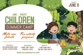 Children Adventure Camp Poster