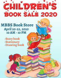 Children Book Sale template